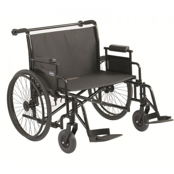 Topaz - Fauteuil roulant manuel confort à châssis pliant...