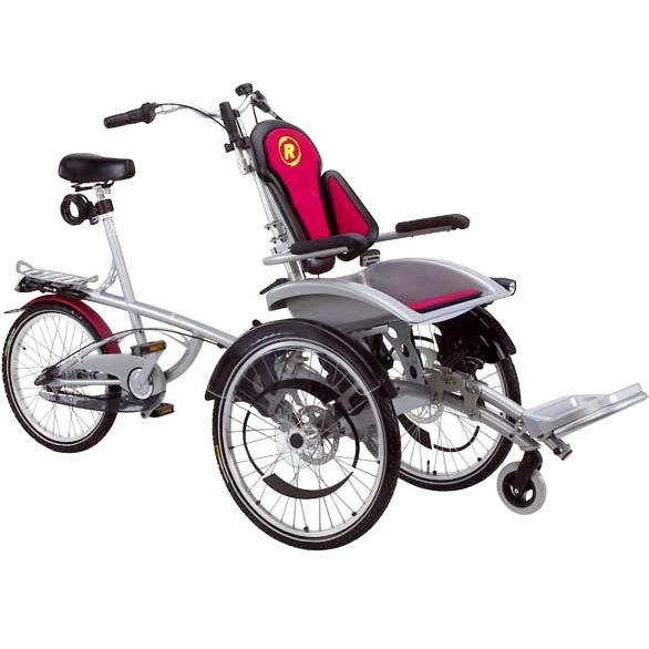 O-pair 2 - Cycle pour pousser ou tirer un fauteuil roula...