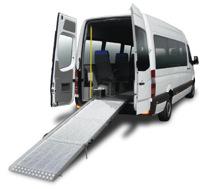 CRAFTER VU - Véhicule neuf aménagé pour le transport...