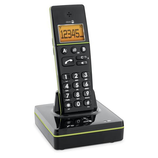 Phone easy 336 w - Téléphone fixe à touches larges...