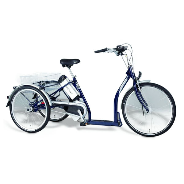 Merano 2 - Tricycle à deux roues arrière propulse par le...