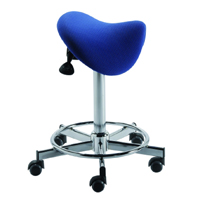 Tabouret selle Preston - Tabouret avec selle inclinable ...