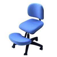 Assis à genoux vertébral Brest - Tabouret à dossier incl...