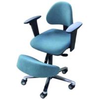 Assis à genoux vertébral Briançon - Tabouret à dossier i...