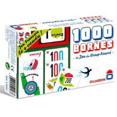 1000 bornes braille 50200 - Jeu de société...