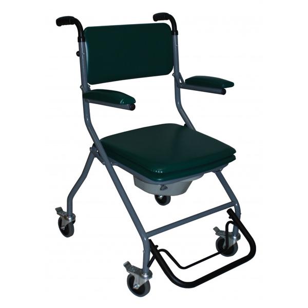 GR 192 - Chaise percée à roulettes...