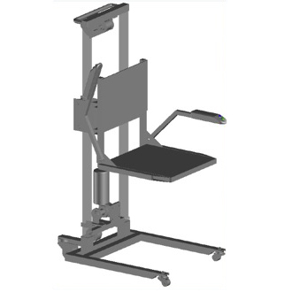 Simply - Hopla - Lève-personne mobile avec siège...
