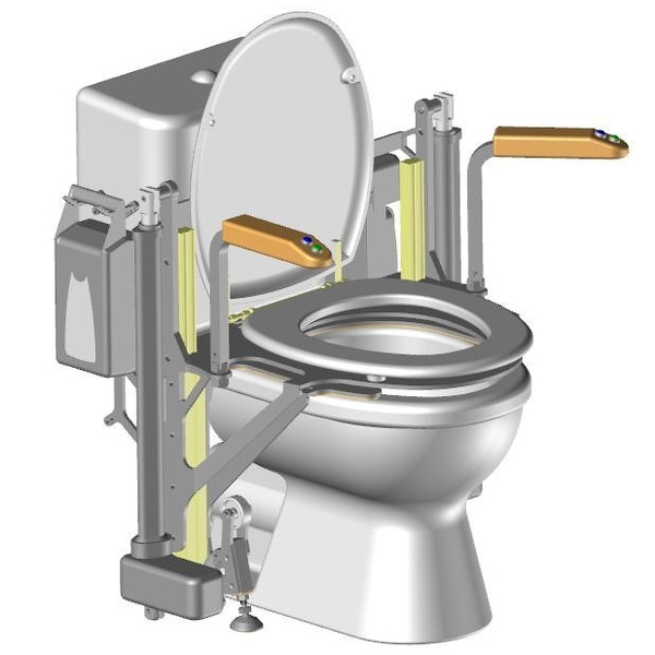 Vertic WC - Cadre de wc / toilettes...