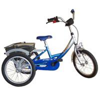 Lesto - Tricycle à deux roues arrière propulse par les p...