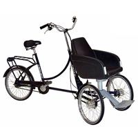 Rider plus 55180 - Tricycle à deux roues avant...