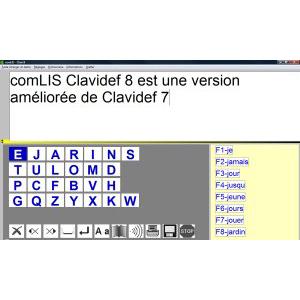 Clavidef8 - Logiciel de clavier visuel...
