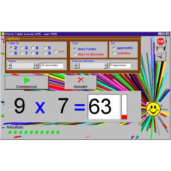 Révise Tables - Logiciel de calcul...