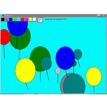Ballons - Logiciel d'apprentissage...