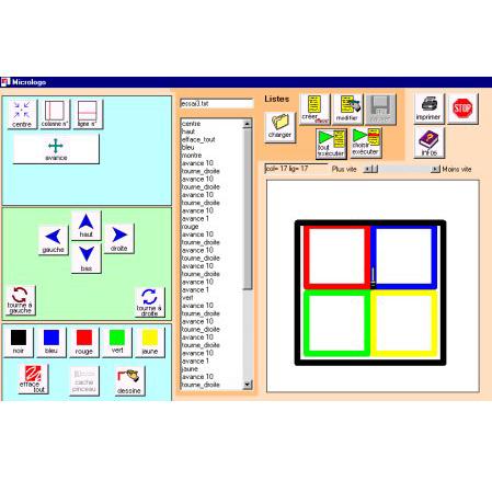 MicroLogo - Logiciel de dessin...