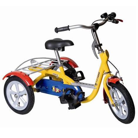 Husky - Cycle pour pousser ou tirer un fauteuil roulant...