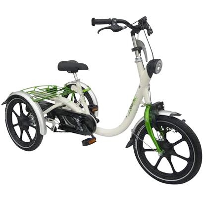 Mini - Tricycle à deux roues arrière propulse par les pi...
