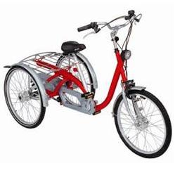 Midi Evol - Tricycle à deux roues arrière propulse par l...