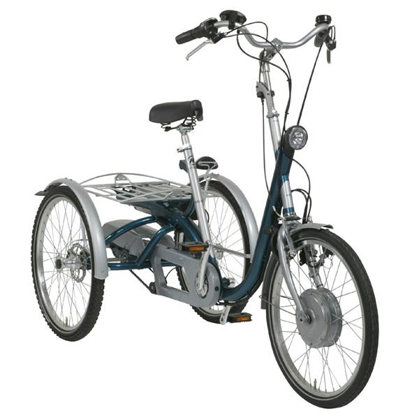 Maxi Evol - Tricycle à deux roues arrière propulse par l...