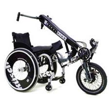 BerkelBike Connect - Troisième roue pour fauteuil roulan...
