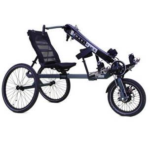 BerkelBike Pro - Tricycle à deux roues arrière propulse ...
