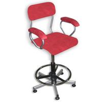 Kosy - Chaise de bureau à hauteur variable par vérin à g...
