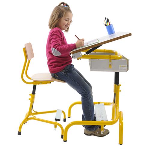 Table Hergon - Table de travail avec plateau inclinable...