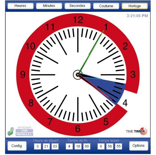 Time timer DV 572 - Logiciel d'apprentissage...