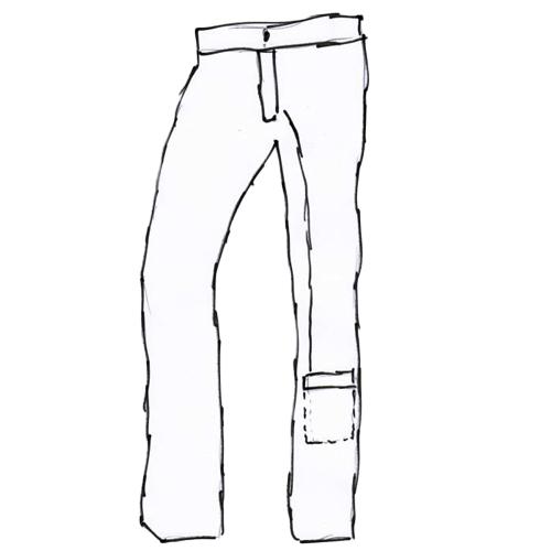 Pantalon poche à urine - Pantalon...