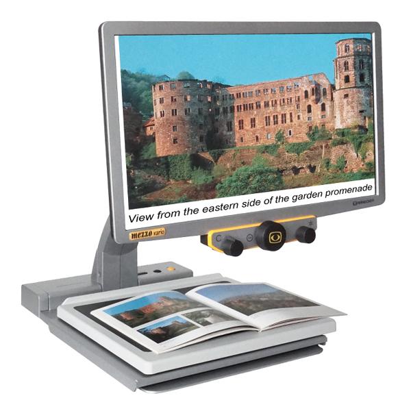 Mezzo Vario - Téléagrandisseur avec écran intégré...