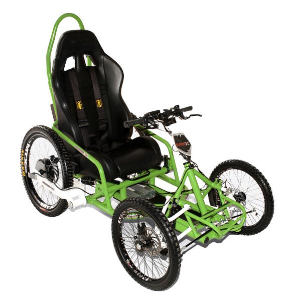 Quadrix Watt's - Fauteuil roulant électrique sport & loi...