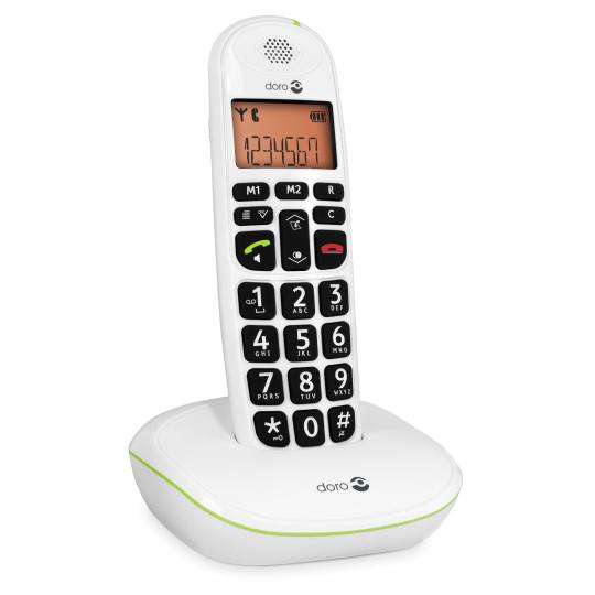 Phone easy 100W - Téléphone fixe à touches larges...