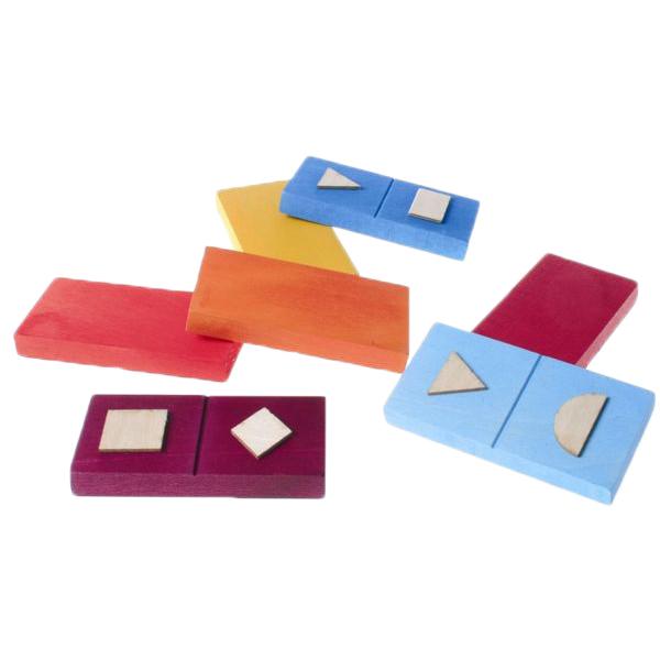 Dominos tactiles des formes 720166 - Jeu de société...