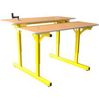 TABLES INFORMATIQUES - TABLE INFORMATIQUE A HAUTEUR REGL...