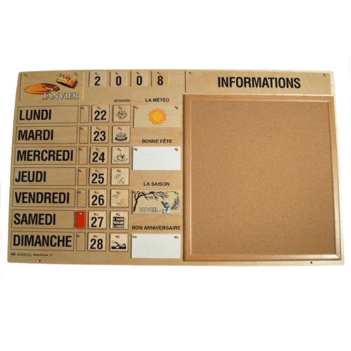 Calendrier d'animation 701028 - Calendrier...