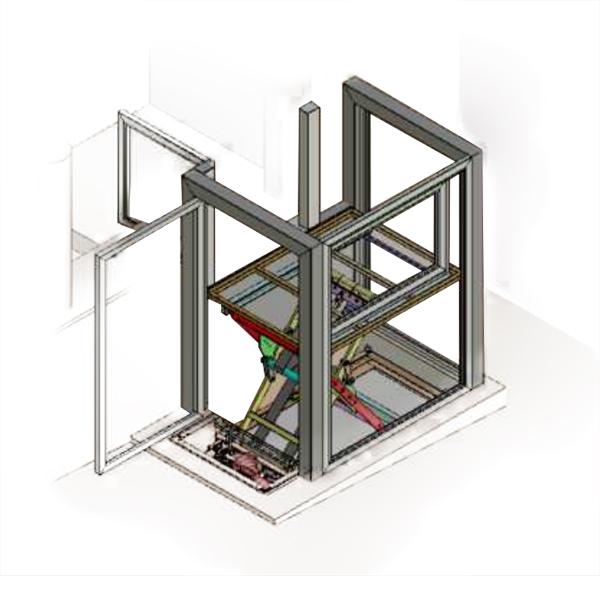 Z Lift PMR - Plateforme élévatrice verticale...