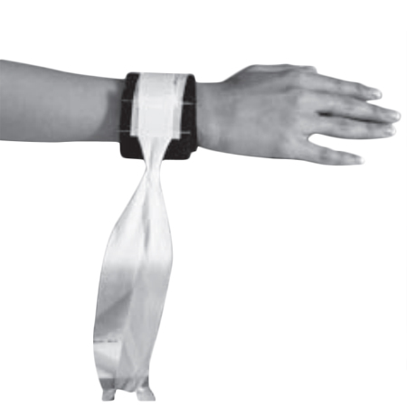 Modèle simple avec auto-agrippant AE - Attache poignet...