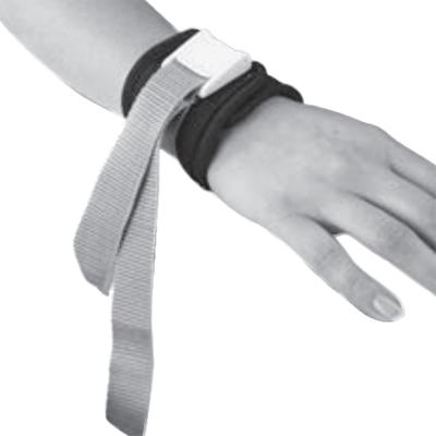Modèle avec fermeture à clips APE - Attache poignet...
