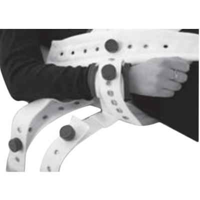 Attache poignet à fixer au cadre du lit BCF 4200 - Attac...