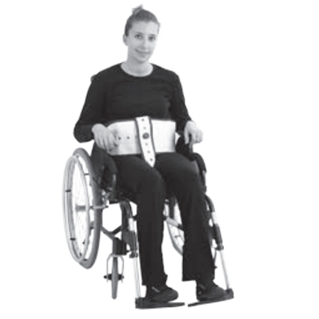 Attache taille fauteuil avec maintien pelvien BCF 4020 -...