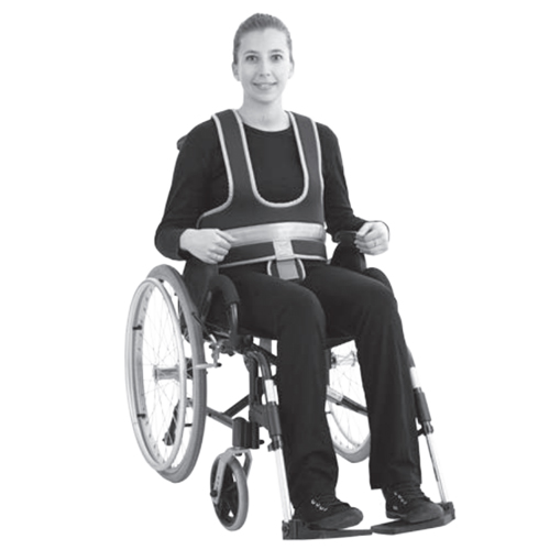 Gilet de maintien MF - Ceinture de fauteuil...