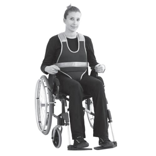 Body de maintien intégral CBIM - Ceinture de fauteuil...