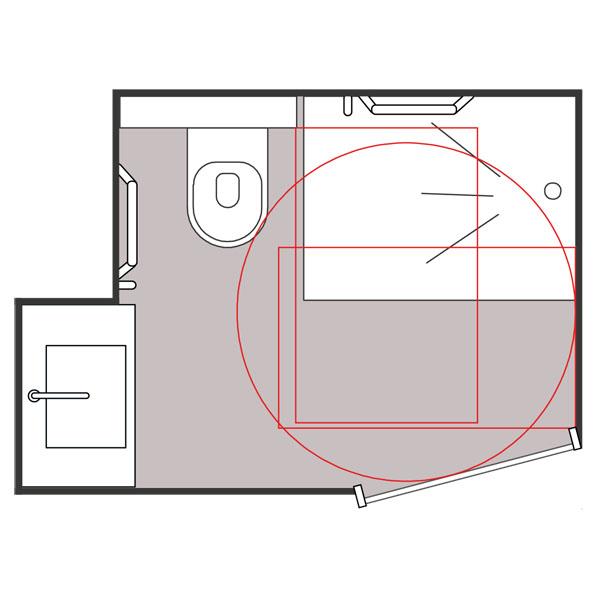 Baléa - Cabine intégrale wc/toilettes...