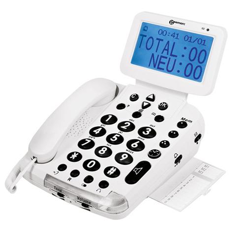 BDP 400 - Téléphone fixe à touches larges...