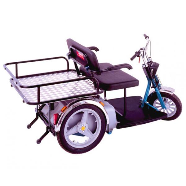 Le porteur - Scooter à trois roues...
