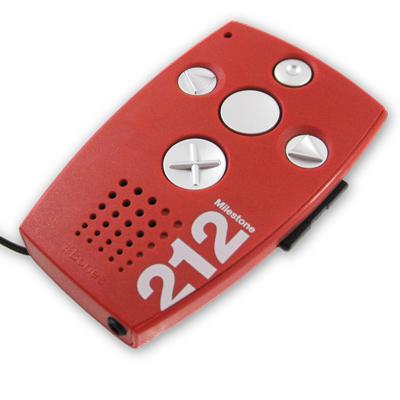 Milestone 212 - Lecteur et enregistreur audio et/ou vidé...