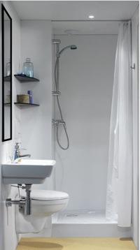 Handicat - Joint pret a poser salle de bain ...