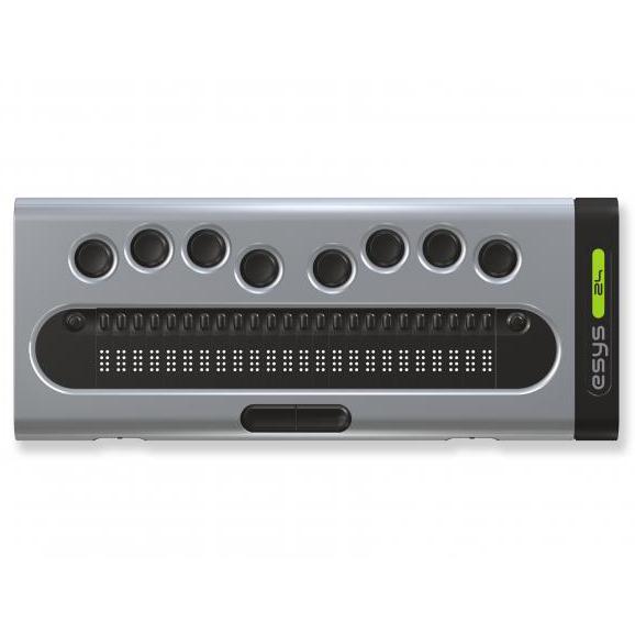 Esys 24 - Plage braille...