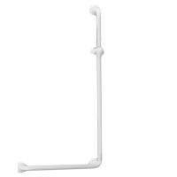 Barre de douche en L 046280 - Barre d'appui coudée fixe...