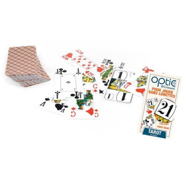 Jeu de tarot optic 720413 - Cartes ...