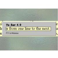 Vu-Bar - Logiciel de traitement de texte...